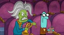 J.K. Simmons Guest Voicing 'SpongeBob SquarePants'