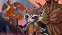 Marvel & Disney XD Unveil New 'Rocket & Groot' Animated Shorts