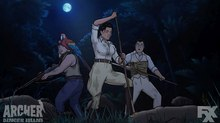 Image Gallery: Visit the Brand New 1939 Retro Look of 'Archer: Danger Island'