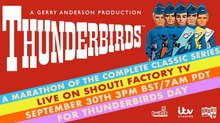 34-Hour 'Thunderbirds' Marathon Coming to Shout! Factory TV