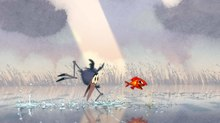 EXCLUSIVE VIDEO: Bringing a 2D Touch to DreamWorks Animation Short 'Bird Karma'