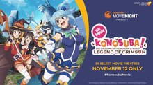 'KONOSUBA! God's Blessing on this Wonderful World! Legend of Crimson' Debuts in Theaters November 12