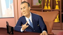 Carl Reiner Can't Keep This Computer-Animated Alan Brady Under Wraps