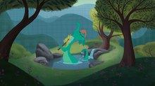 First Images from Disney's Nessie Short