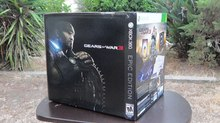 Gears of War 3 Epic Edition UN-BOXING