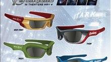Custom 3D Glasses for The Avengers