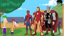 'Phineas and Ferb' Go on Marvel Mission