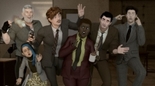 Corus Ventures into Adult Animation with 'Psi Cops'
