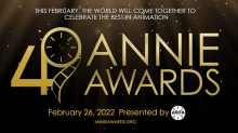 49th Annual Annie Awards Now Open for Submissions