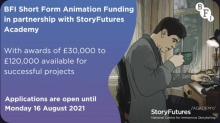 BFI Short Form Animation Fund Now Open for Project Submissions