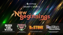 Celebrate 'New Beginnings' with January's Crunchyroll Crate