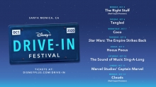 Disney+ Drive-In Festival Comes to Santa Monica October 5-12