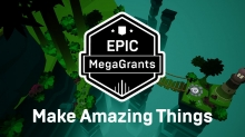 See Project Trailers and Updates on Newest Epic MegaGrants CG Projects