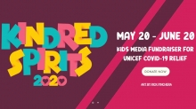 KEPYR Announces 'Kindred Spirits 2020' UNICEF Fundraiser