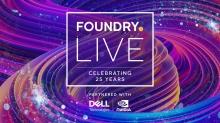 Foundry Live Returns September 21-29
