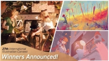 Winners Announced for Celsys' 27th International Illustration Contest