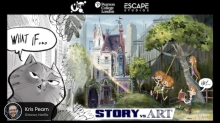 View Conference and VFX Festival 2021 Present Kris Pearn 'Art vs Story' Discussion