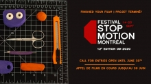 Call for Entries: Festival Stop-Motion Montréal 2020