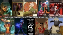 Next PreVIEW Set: 'Animated Features Oscar Contenders – A Directors' Discussion'