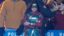 Surprise Set Photos Reveal First Look at 'Ms. Marvel' Costume