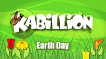 Every Day in April is Earth Day on Kabillion and Kabillion Girls Rule!