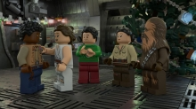 Rey and Finn Minifig Alert: 'LEGO Star Wars Holiday Special' Coming to Disney+