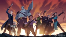 Critical Role Drops 'The Legend of Vox Machina' Character Art First Look