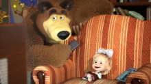 'Masha and the Bear' Feature in Development