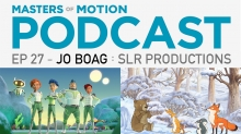 New 'Masters of Motion' Podcast with Emmy Winner Jo Boag