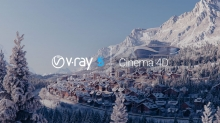 Chaos Group Releases V-Ray 5 for Cinema 4D