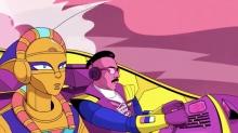 The Retro-Futuristic Cyberpunk of Purple Disco Machine's 'Playbox' Music Video