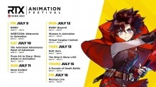 RTX at Home Animation Festival Announces Line-Up