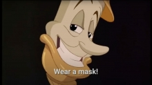 Disney Parody Reminds Us to 'Wear a Mask'