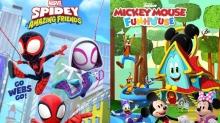 Disney Junior Reveals New 'Spidey' and 'Mickey Mouse' Preschool Series