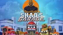 NBA Legend Shaquille O'Neal Stars in All-New 'Shaq's Garage' Animated Comedy