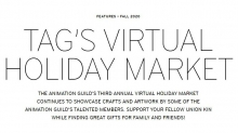 Time to Shop! The Animation Guild Launches Virtual Holiday Market