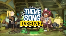 EXCLUSIVE: 'Amphibia' and Sasha Rock in New 'Disney Theme Song Takeover'
