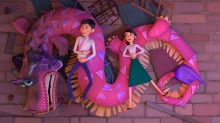 Producers Chris Bremble and Aron Warner Unpack Their 'Wish Dragon' Journey