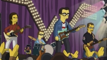 Weezer Cruising in as Special Guests on 'The Simpsons'