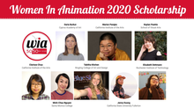Women in Animation Awards 8 Young Women with 2020 WIA Scholarships